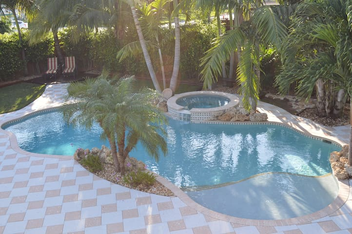 Pompano Beach House with Pool & Spa - Margate - Casa