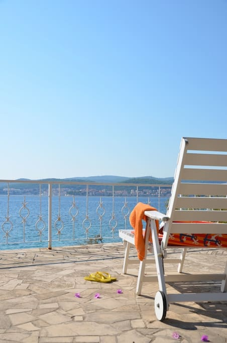 Sunny deck tarrace