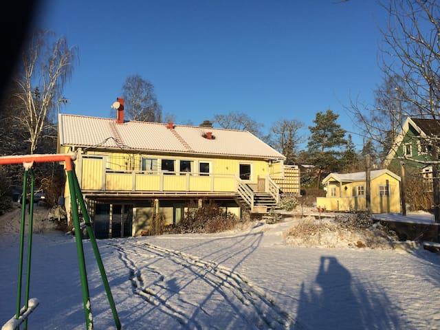 Family-friendly house Stockholm - Huddinge - บ้าน