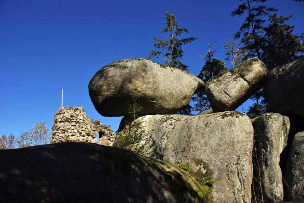 Ungewöhnliche Felsformationen