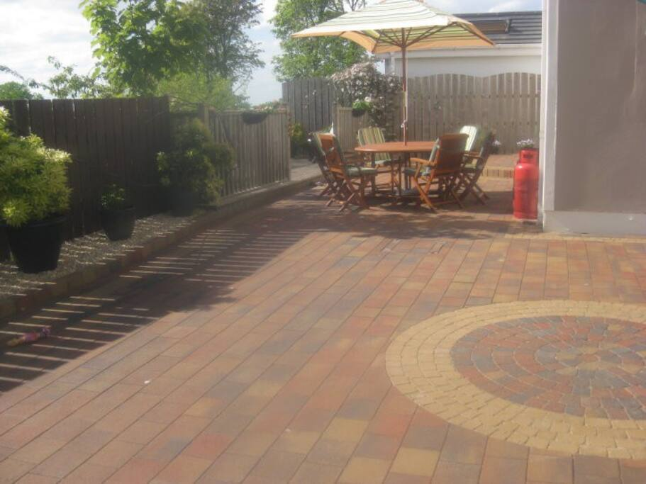Back Garden and Deck
