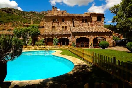 Masia Sant Llorenç for 16 guests - Sant Llorenç Savall - Дом