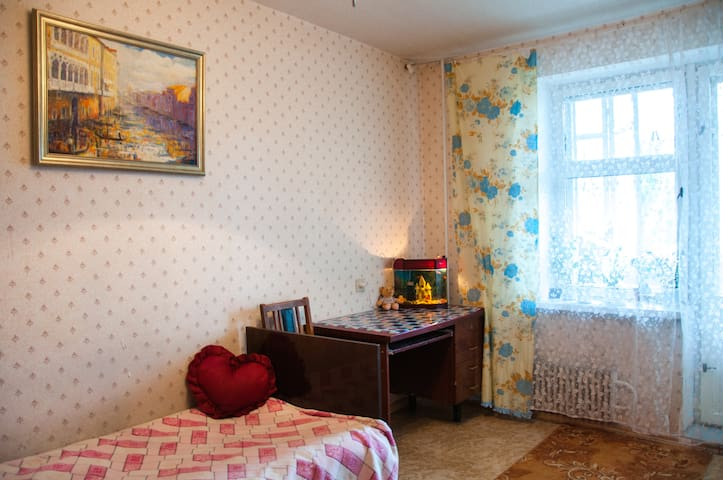 Comfortable room in downtown - Kharkiv - Appartement
