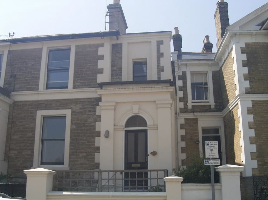 This grade 2 listed victorian house has been divided into several apartments and maisonettes