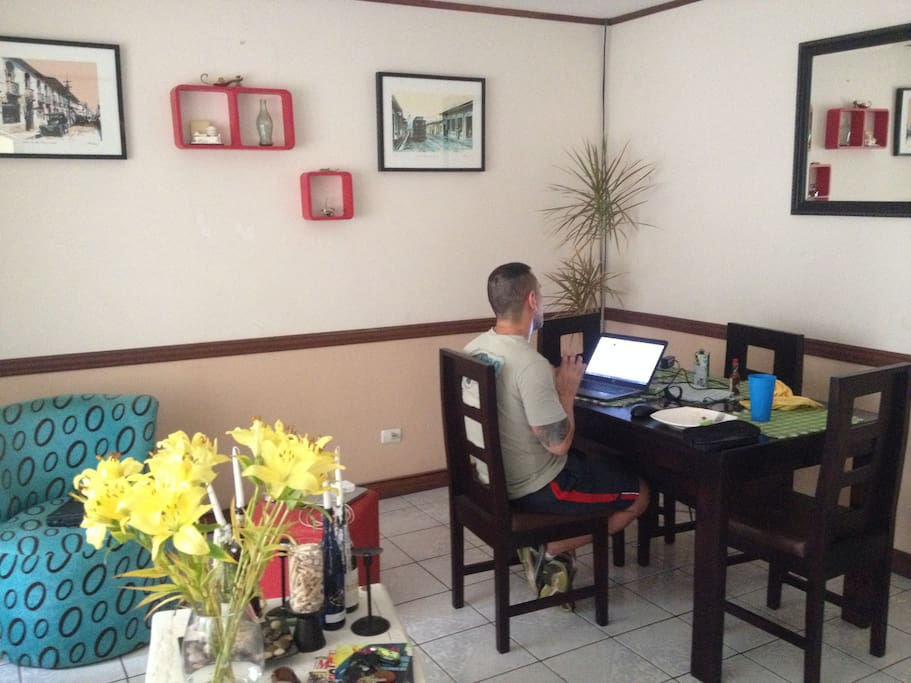 Dinner Room area.