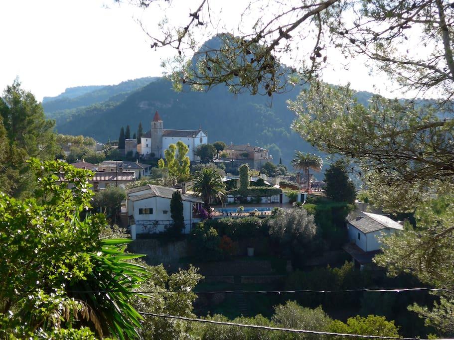 Blick von der Terrasse / view from terrace