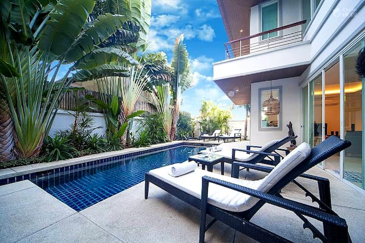 Walk 800M to Kamala beach Life is convenient Villa
