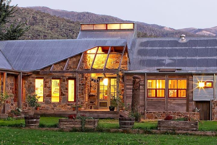 The House at Smoko, luxury retreat, Bright / Smoko