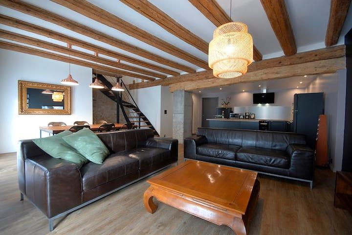 Maison BED'ZEL HOME gîte 6-8 pers. avec piscine