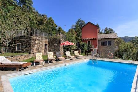 Relax villa with pool and views - San Bernardino Verbano