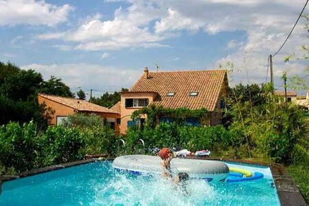 charming old traditional villa - Simiane-Collongue