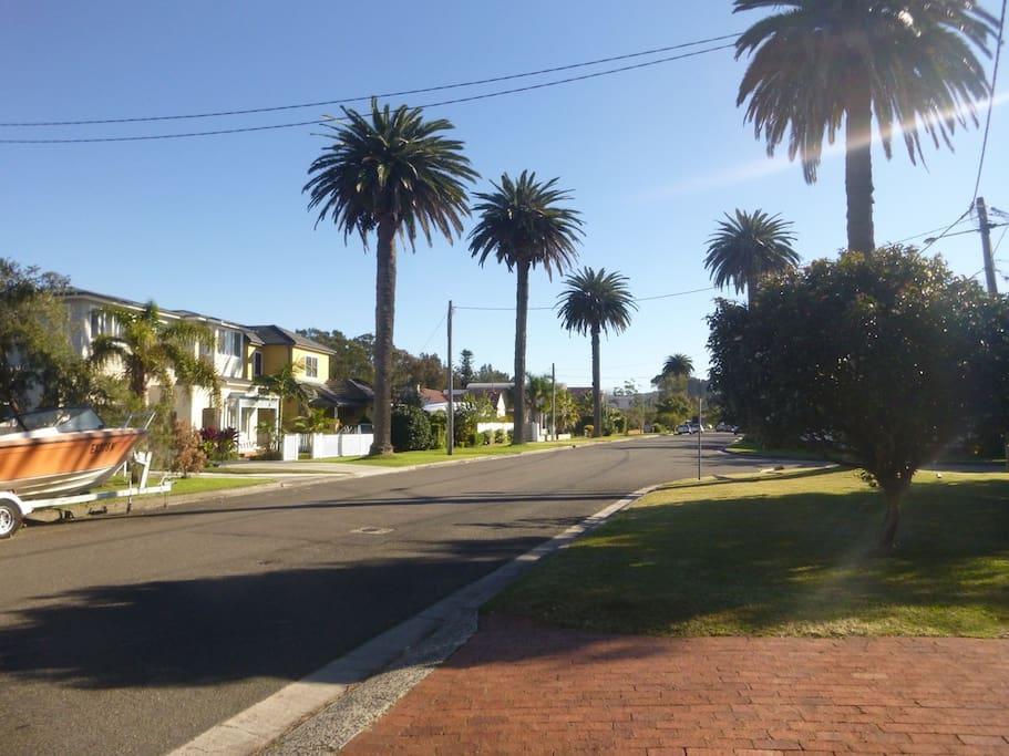 Quiet and friendly neighbourhood