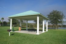 Lakeside BBQ spot