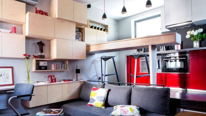 appartement près de Paris - Saint-Ouen - Apartemen