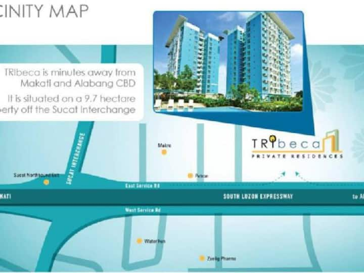 Fully Furnished Studio Unit at Eastbay Residences