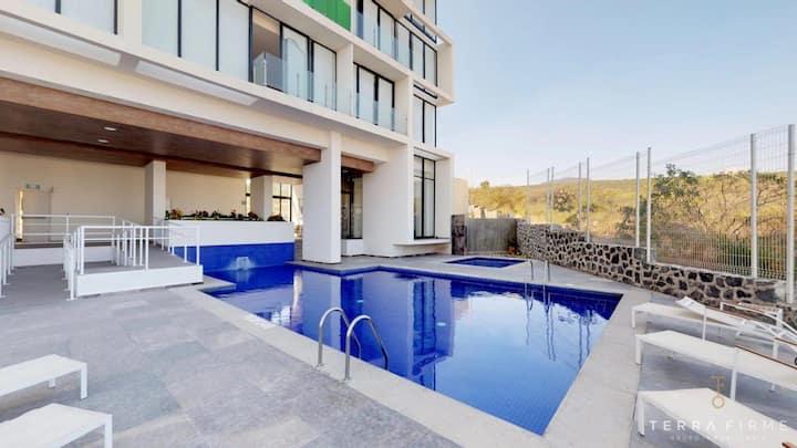 Habitación en Depa de lujo en Centro Sur Queretaro