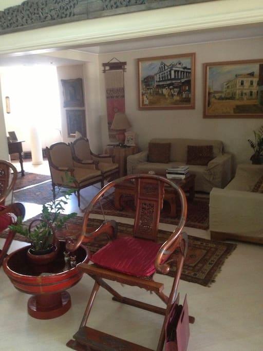 Le séjour avec deux ambiances / Big living room