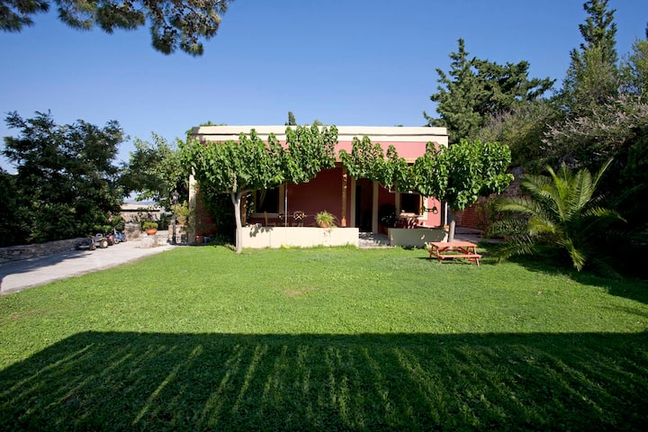 The Red House at the Montofoli Wine Estate
