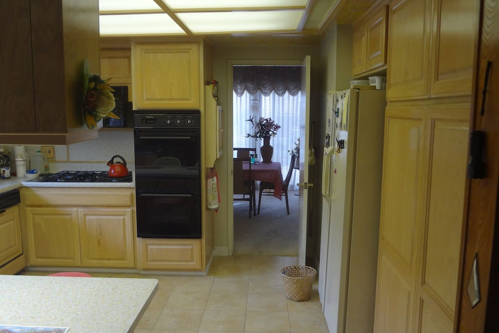 Kitchen looking into Dining room