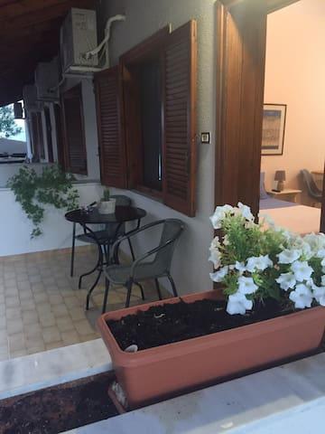 Anna's 22 sq.m room in Monemvasia