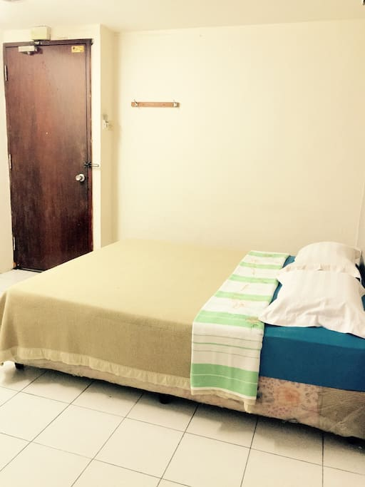 Standard room for 2 pax - 1 queen size bed, private bathroom with water heater, air conditioner.