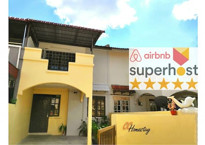 ❤CC Homestay Ipoh❤Double storey terrace ★3-8pax★