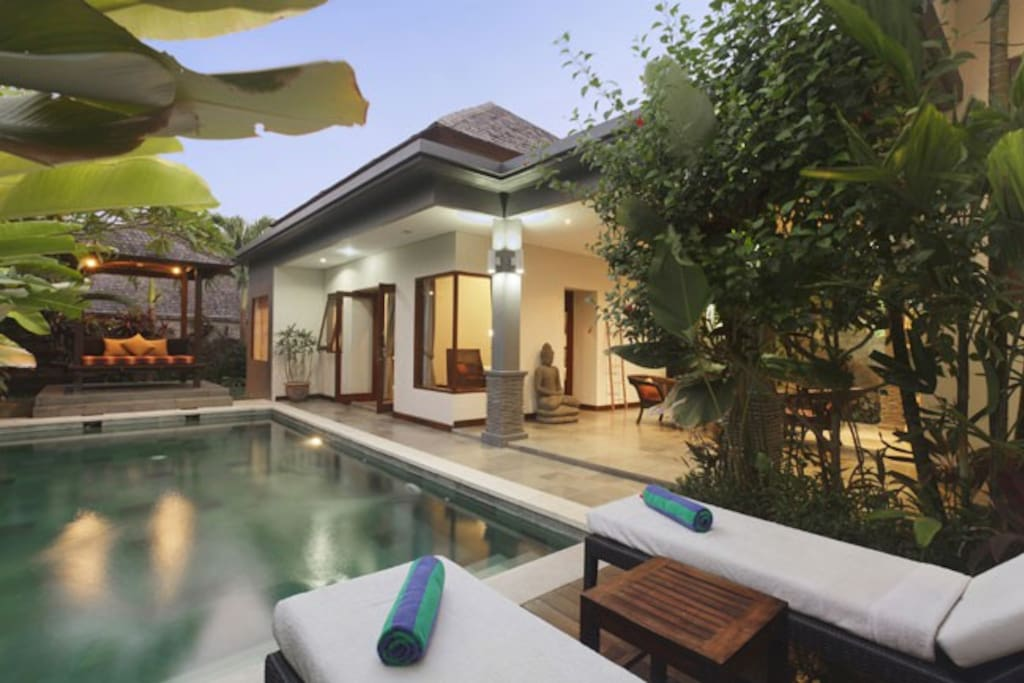 2 Bedroom Private Pool Villa Senang