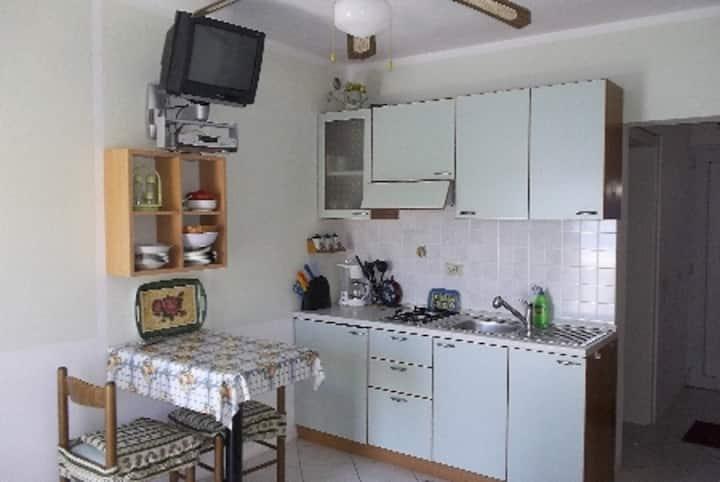 Villa Rosa - Studio apartment with sea view and terrace (A6)