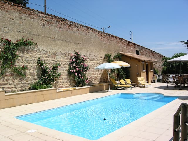 les jardins de l'hacienda - Tarare - Bed & Breakfast