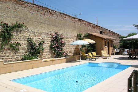 les jardins de l'hacienda - Tarare - Penzion (B&B)