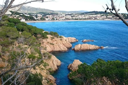 Spacious apartment close to centre town - Sant Feliu de Guixols  - Wohnung