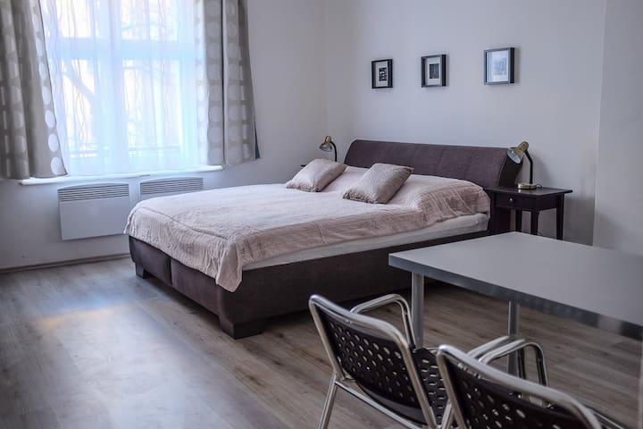 Cozy & Quiet Studio 2 – Romantic Stay in Zizkov