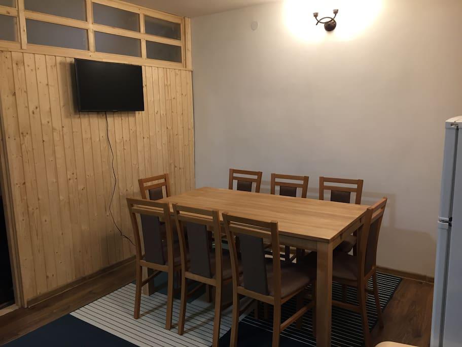 Living/open kitchen