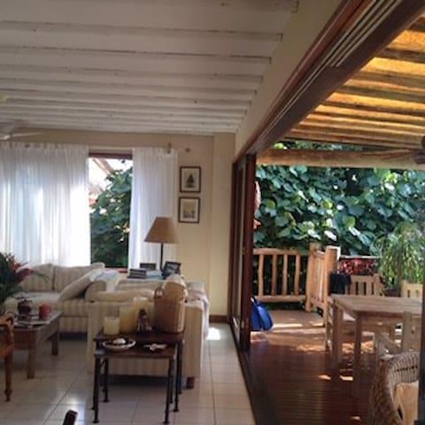 Sala e terraco