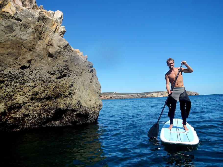 Stand Up Paddle Tours are available