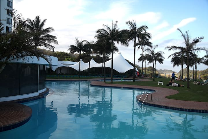Umhlanga Beach holiday apartment.