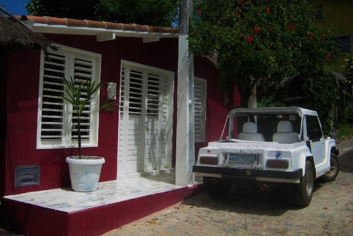 Casa Banana, charming house in Pipa Downtown - Pipa - Dom