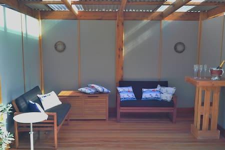 Beach House & Retreat Style Garden - Coronet Bay - House