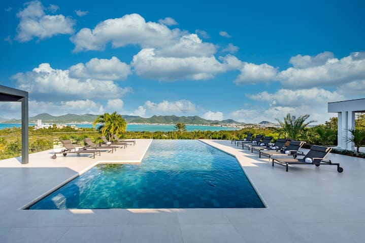 Villa LA SIESTA - 5 Bedrooms - Magic view