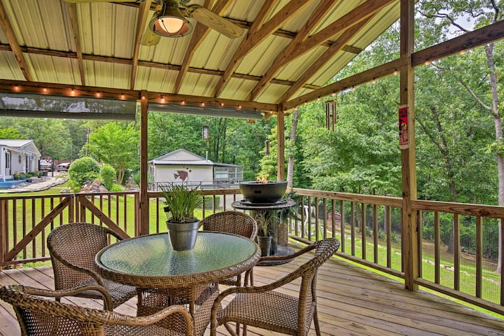'Monet's Cottage' in Hot Springs National Park!
