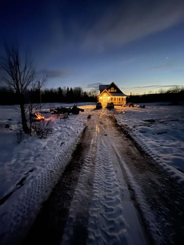 Deep muskoka retreat with 18 acres of land
