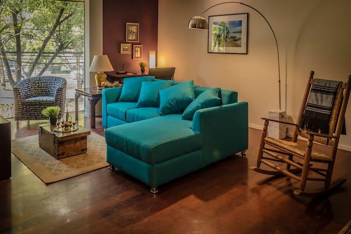 En la colonia Condesa, funcional y cómodo. - Мехико