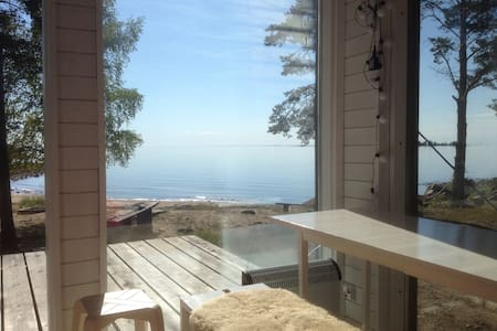 Nice cabin with own Beach - Raahe