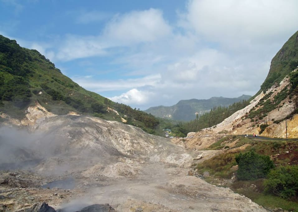 Drive-in Volcano in Soufriere