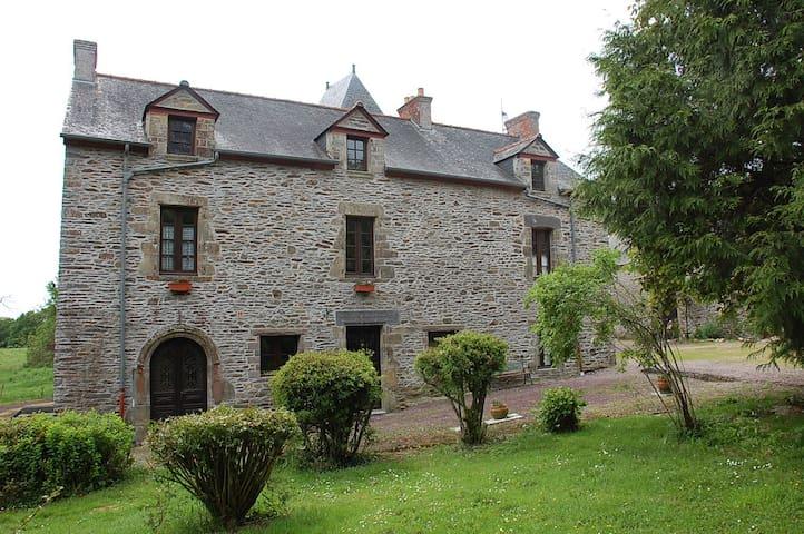 Manoir du Mur 2 bdrm 'Breton' Apt - Comblessac - Leilighet