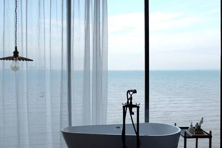 Room1[oneday熹山海景民宿]海景房无敌海景 - 厦门市 - Apartamento