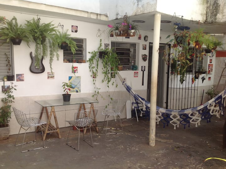 Quarto Individual Vila Madalena/Pinheiros