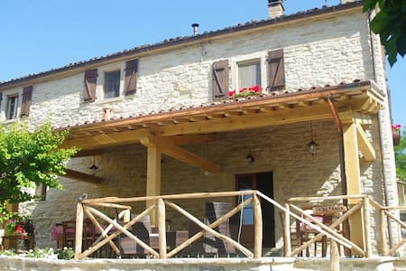 Great holiday on an agriturismo in Le Marche Italy - Mercatello Sul Metauro - Inap sarapan