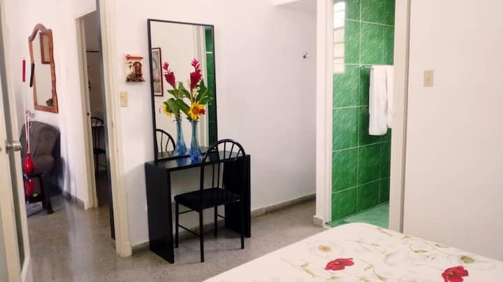 Kuper House - Triple bedroom  in Vedado