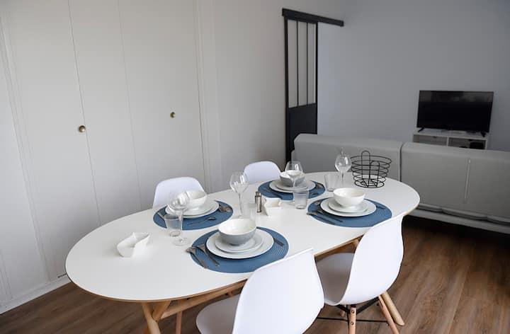 Appartement dans résidence calme rénové
